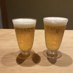 米増 - バカラのグラスで乾杯♡(お酒はアップしてもOKとのこと)