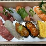 玄海鮨 - 料理写真:桐にぎり 2160円