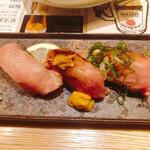 肉料理ひら井 - 肉寿司