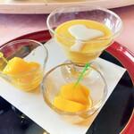 中華料理 桃李 - マンゴープリン&アップルマンゴー