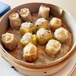 中華料理 桃李 - 点心(焼売、広東焼売、犬鳴ポークの焼売)