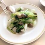 中華料理 桃李 - 青野菜のあっさり炒め