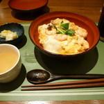 OMS - ぷりぷり海老の和風オム丼セット
