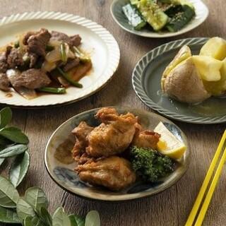 夜は北海道料理などアラカルトをご用意!