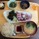 さかなや - ぶり刺身定食(1000円)