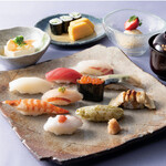 すし割烹 翁鮨 - ランチ「菖蒲」