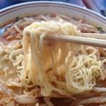 麺点飯 広州 - 担々麺(辛口)の麺です。