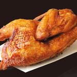 北海道ダイニング 小樽食堂 - 若鶏半身揚げ 妥協無しの当店名物料理!皮はパリッと中はふっくら!\1,485