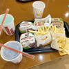 バーガーキング - 料理写真:バーガーセット
