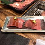焼肉陽山道 - 肉寿司