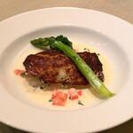 ビストロ ラマージュ - 真鯛のポワレ