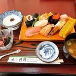 喜の新鮨 - 料理写真:上寿司(ランチ)    ¥1,650-
