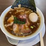 麺屋 あきのそら - 料理写真:岡崎八丁味噌、850円。全部のせ、350円。