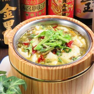 女性に大人気★「魚の薄切りと高菜の山椒漬け煮」