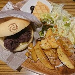 トモヱベーグル - 料理写真:ライドサンドセット1.北海道あんバター 880円+税 2021/02