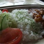 トロッコ - カレー、ご飯、野菜の3分割
