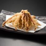 イカゲソの天ぷら