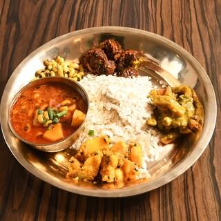 本格的なネパールの味を再現