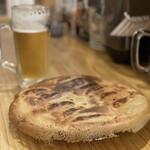 いでゆ商店 - 料理写真:餃子2人前 生ビール