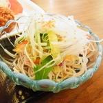 14861375 - サラダ蕎麦!さすが東家系(^_^;)