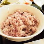 14861379 - 雑穀米(おかわり出来ます)