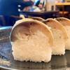 Asahiya - 料理写真:鯖寿司5貫♪