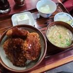 一二三食堂 - ヒレソースカツ丼