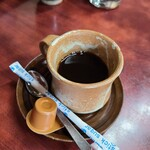 一二三食堂 - サービスコーヒー