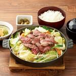 北海道はでっかい道 オホーツクの恵み 湧別町 - ジンギスカン定食