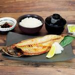 北海道はでっかい道 オホーツクの恵み 湧別町 - 焼き鯖定食