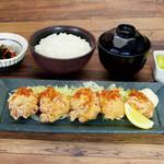 北海道はでっかい道 オホーツクの恵み 湧別町 - ざんぎ定食