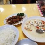 長城飯店 - いつもの羊肉串、登場の図。