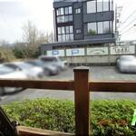 カフェテラスロッジ - 店舗脇駐車場