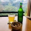 タンジョウ ファーム キッチン - 料理写真:ハートランドビールとお通し