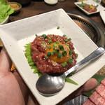 148625778 - 牛肉ユッケ