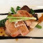 いばらき食彩香寿亭 - 主菜(ひたち鶏のグリル)