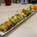 肉処 牛慎 - ランチセット-前菜