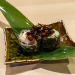 肉処 牛慎 - ランチセット-肉寿司