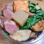 148634648 - 農家のオーガニック野菜料理が詰め放題!!980円+鴨500円=1480円