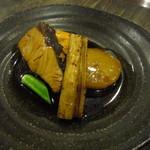 山灯家 - 鶏のコース 煮魚2種盛り