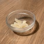 ミアボッカ - 別添えチーズ