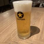 ミアボッカ - グラス生ビール