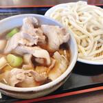藤店うどん - 料理写真:肉汁うどん 並