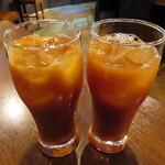 阿波居酒屋 頂 - 「飲み放題」カシスオレンジ