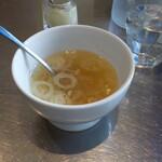 東京オイスターバー&カフェ - スープ