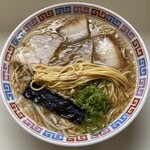 大橋中華そば - ストレート中細麺