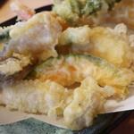 手打ち蕎麦 そば神 - 天ぷら