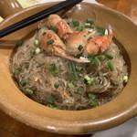 アンコール・ワット - 蟹肉と春雨の炒め