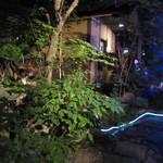 山灯家 - お庭
