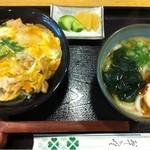 14865613 - 親子丼とミニうどん850円